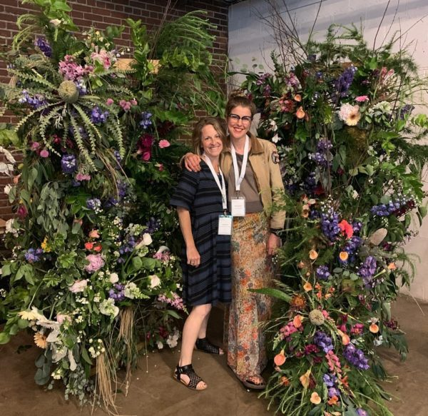 Slow Flowers Summit 2019 presenters Tobey Nelson and Carly Jenkins